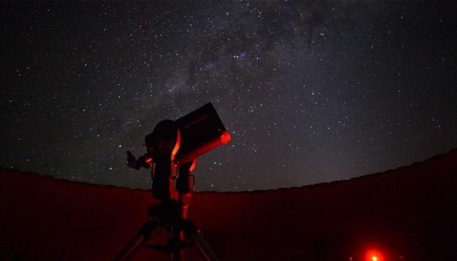 &Beyond Sossusvlei Desert Lodge telescope