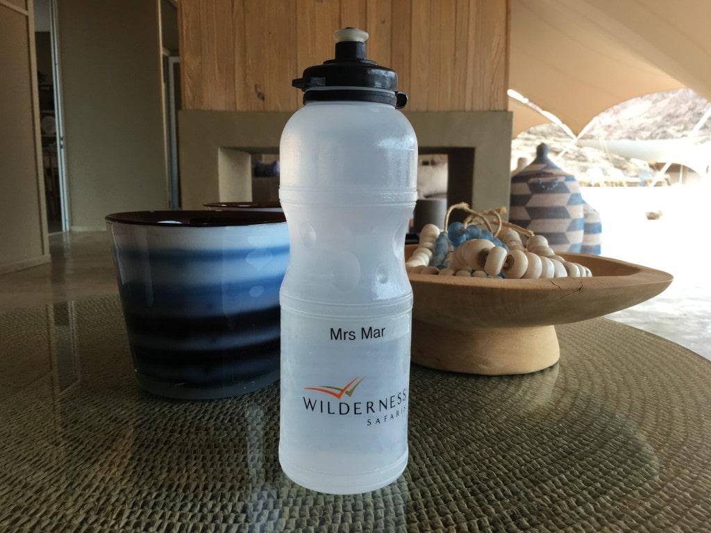Wilderness safaris waterbottle