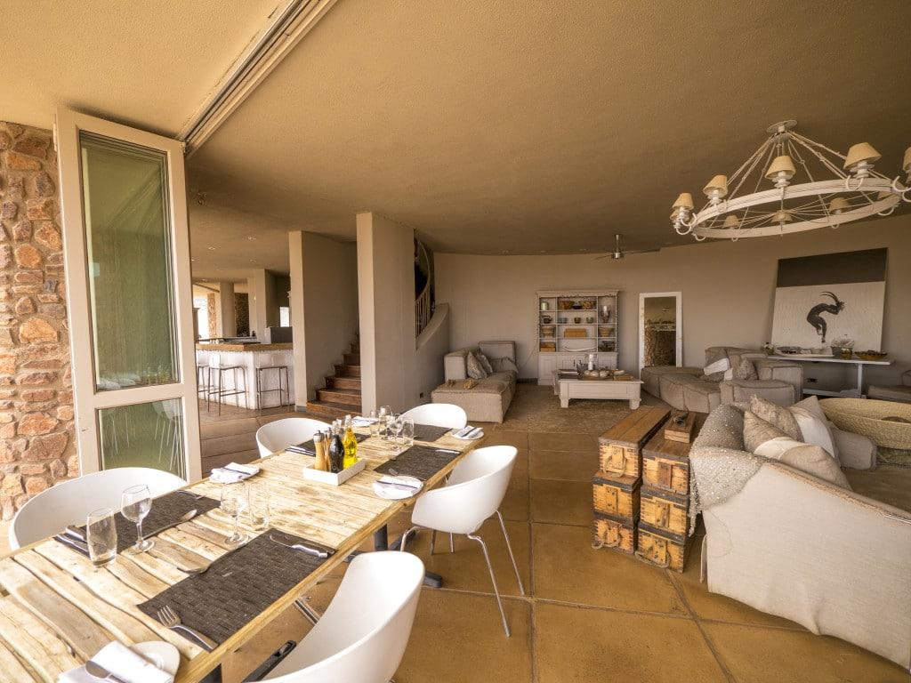 Sossusvlei Desert Lodge lounge