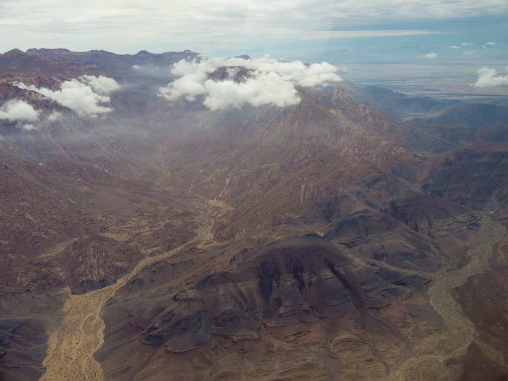 Namibian mountains
