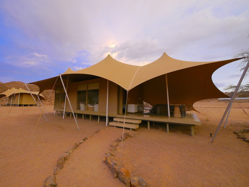Tent at Hoanib Skeleton Coast Camp