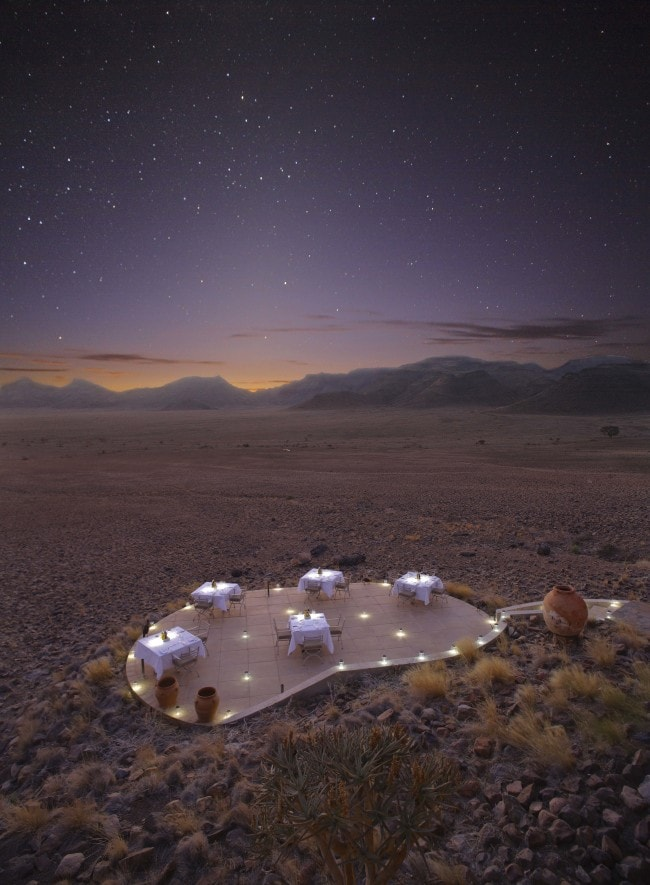 andBeyond Sossusvlei Desert Lodge night sky