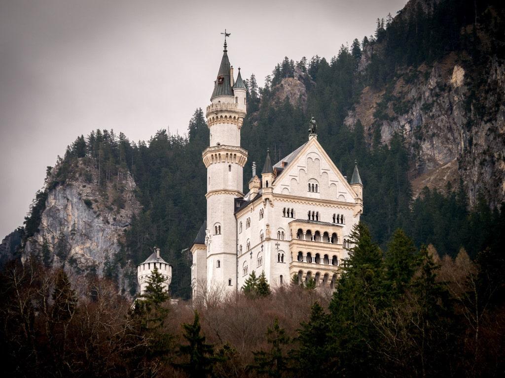 Neuschwanstein Castle Exterior