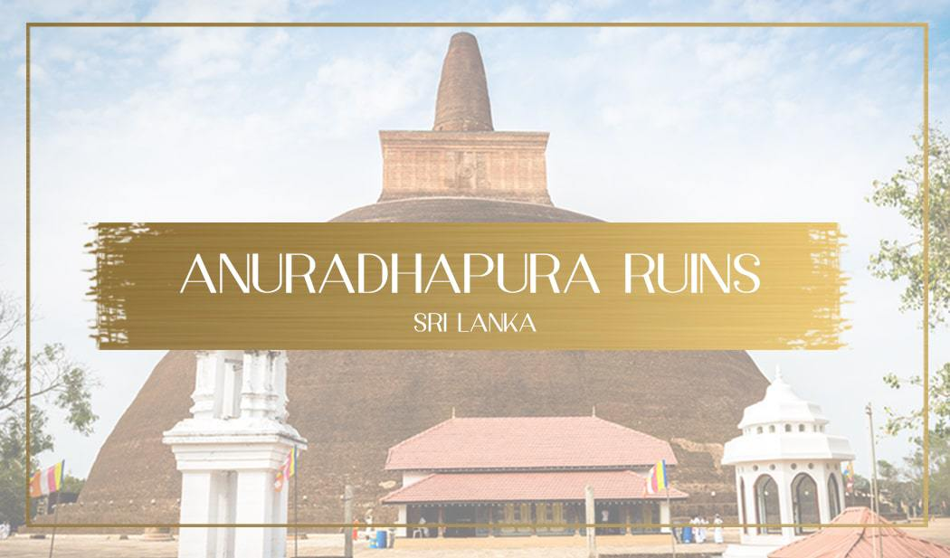 Anuradhapura ruins main