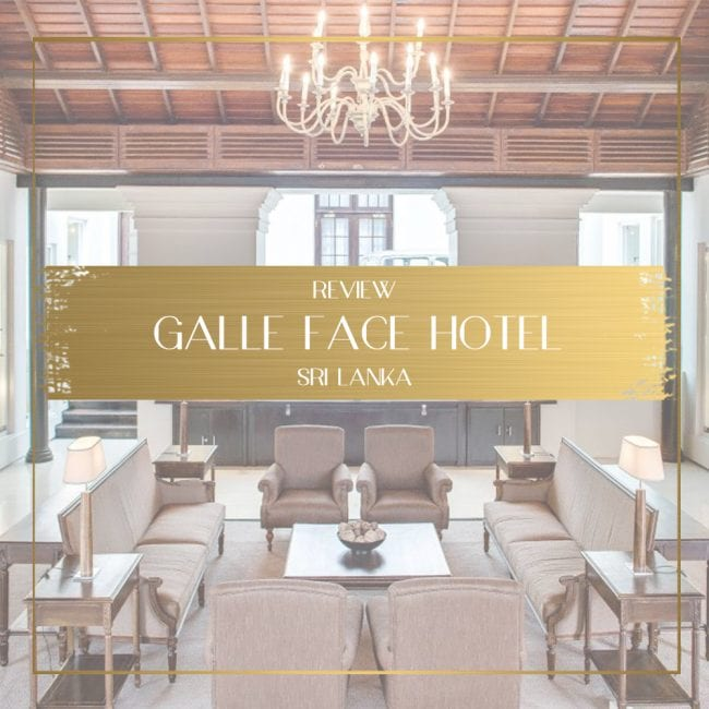 Galle Face Hotel Review feature