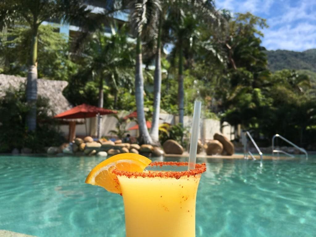 Margarita by the pool anyone?