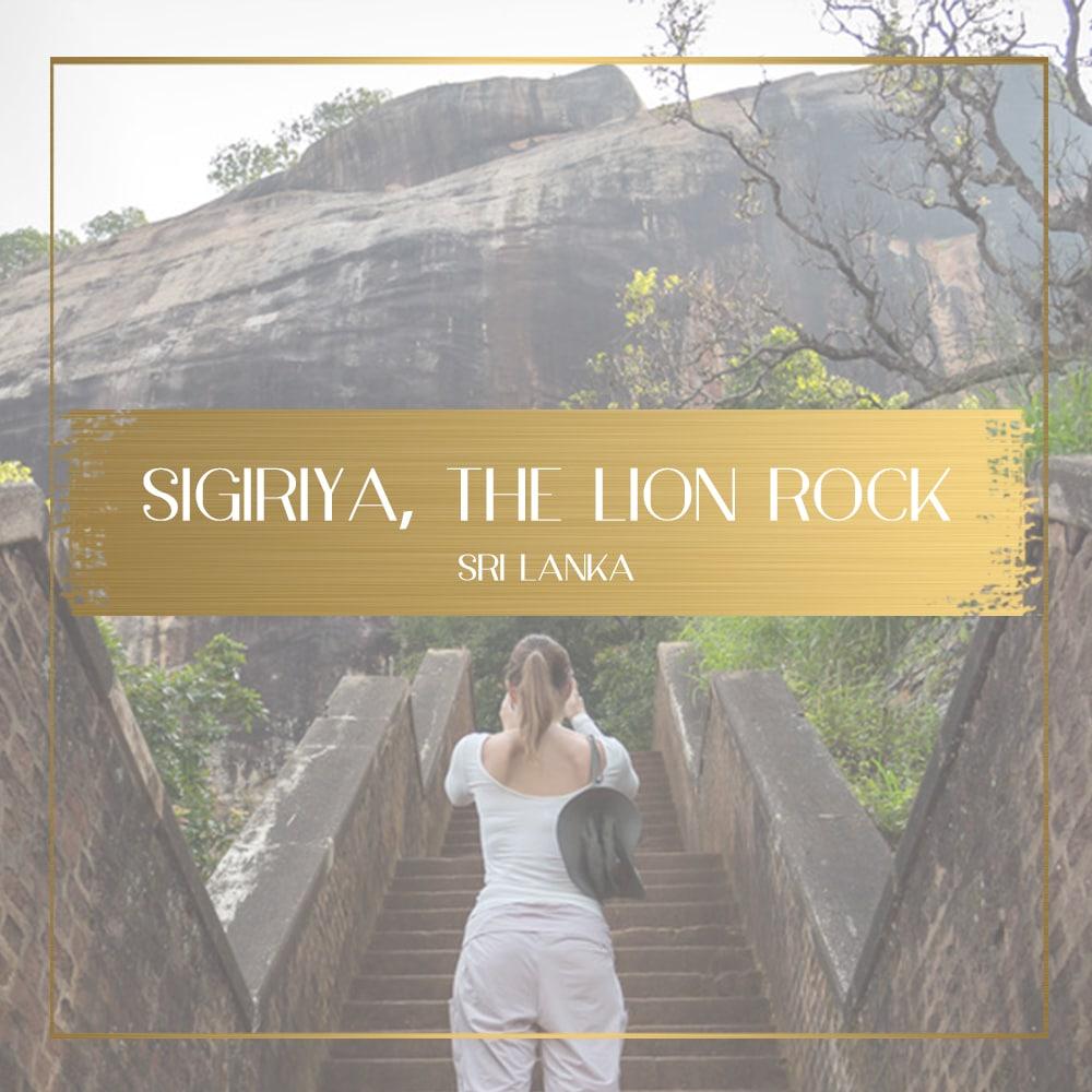 Sigiriya Lion Rock feature