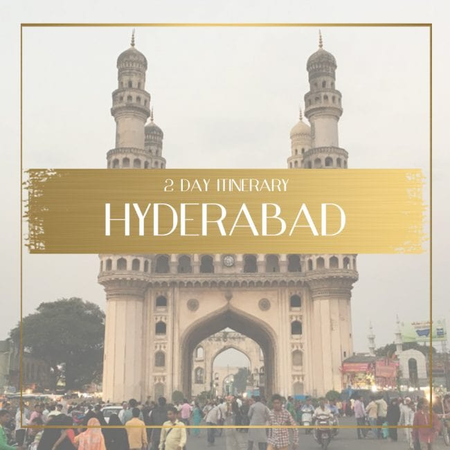 Things to see in Hyderabad in 2 days feature