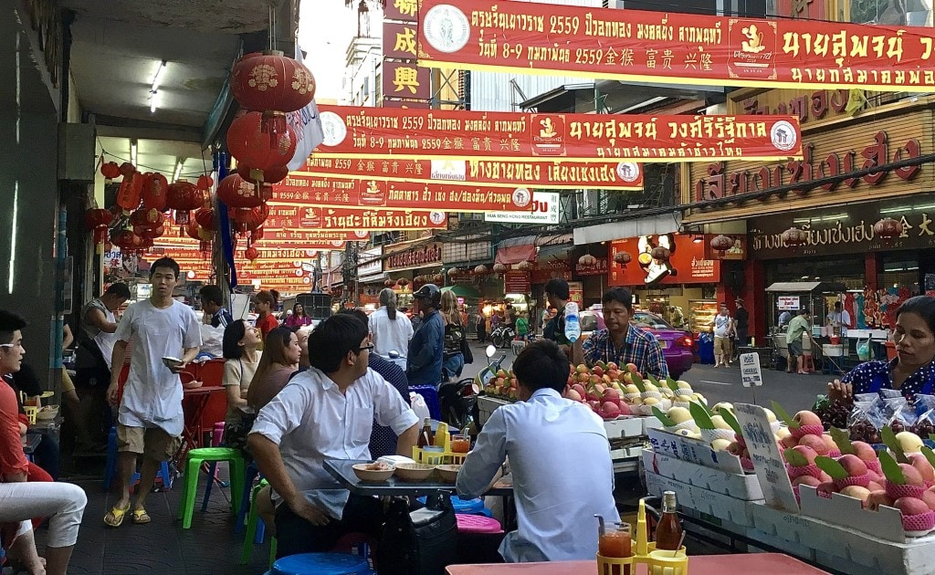 Bangkok Chinatown food tour