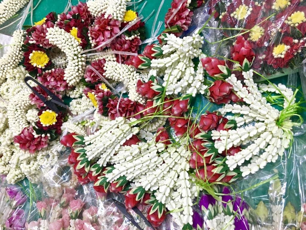 So many flowers in Bangkok
