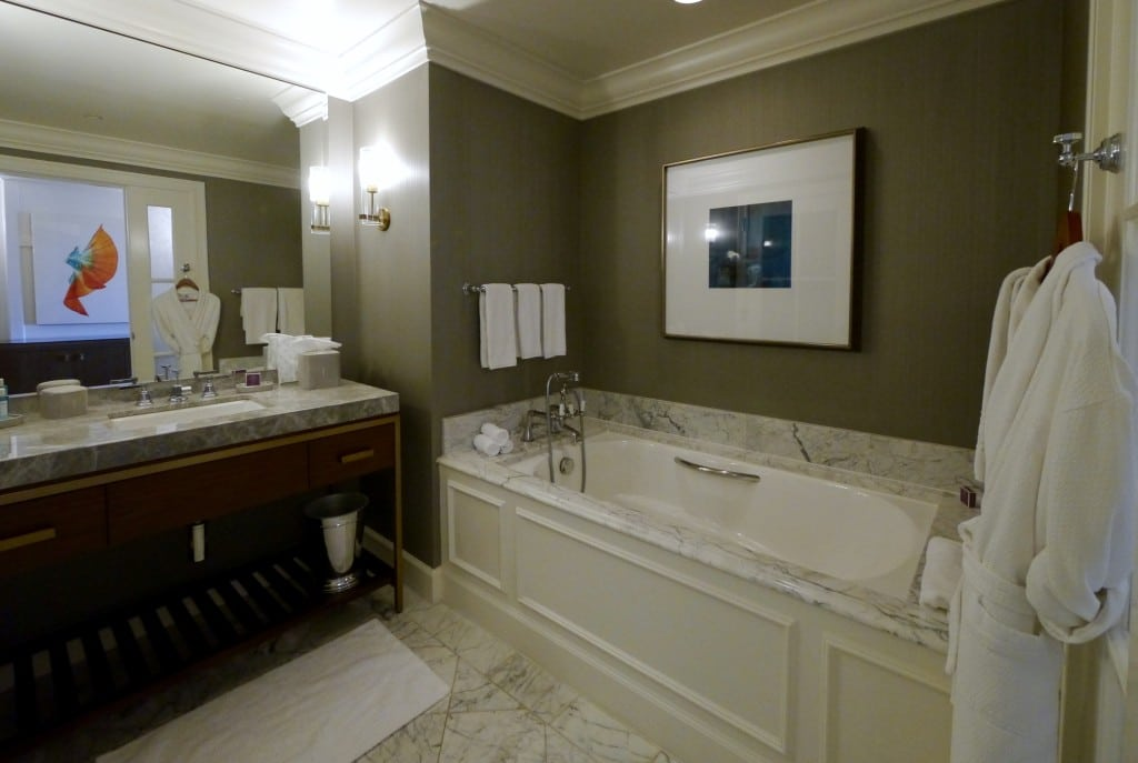 The Ritz Carlton Half Moon Bay bathroom