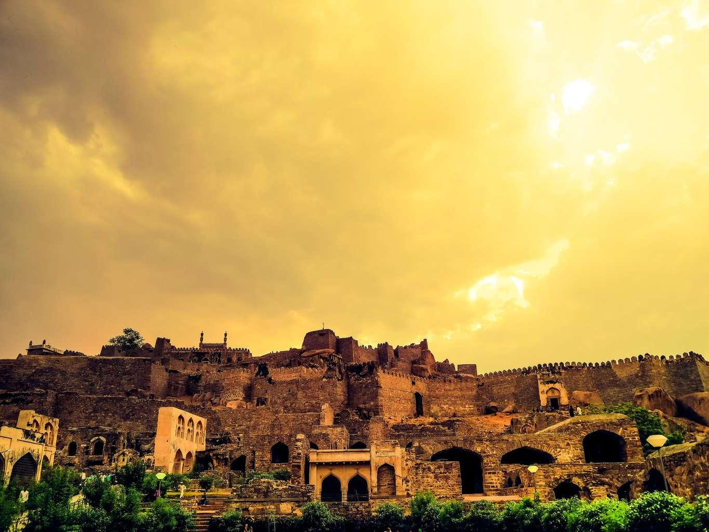 """Hyderabad Golconda Fort"""