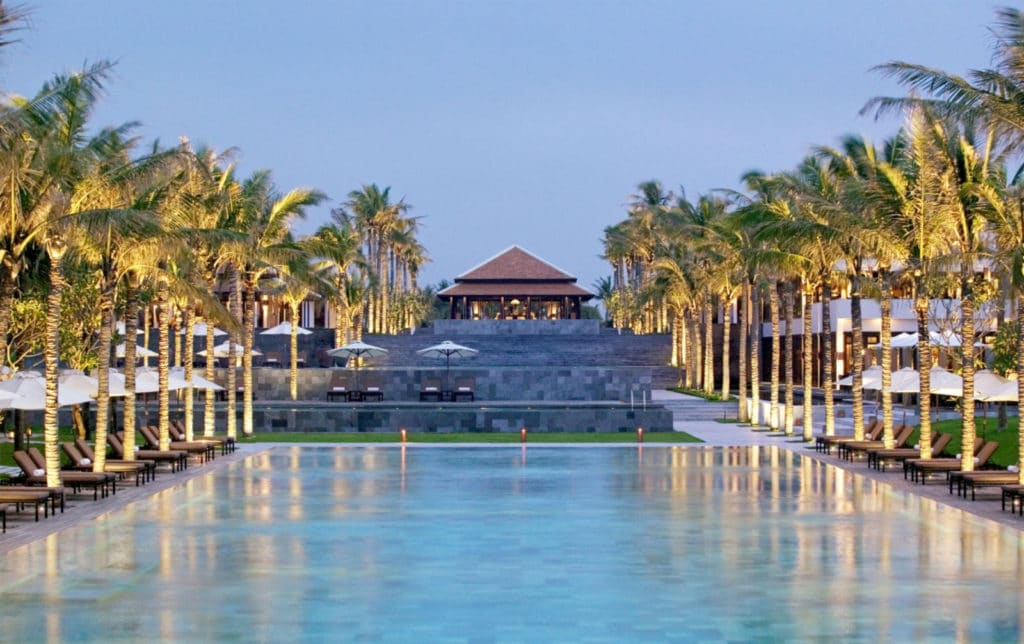 """The Nam Hai"" luxury hotels in Da Nang"
