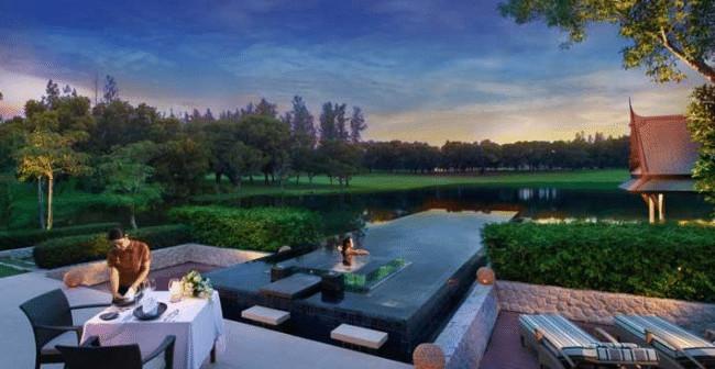 Banyan tree Double Pool Villas