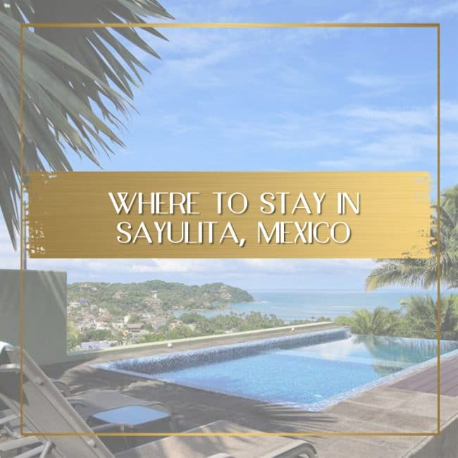 Where to stay in Sayulita feature