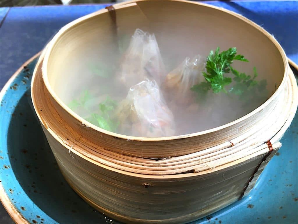 Boletus dumpling