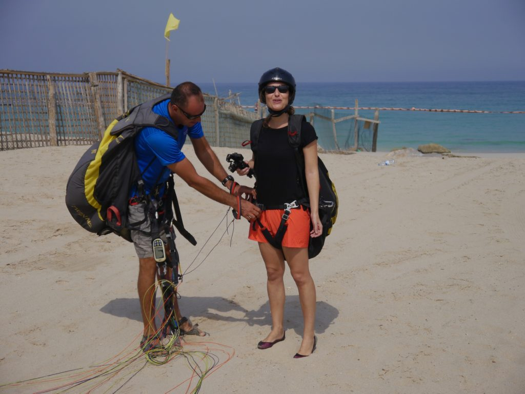 Paragliding Six Senses Zighy Bay