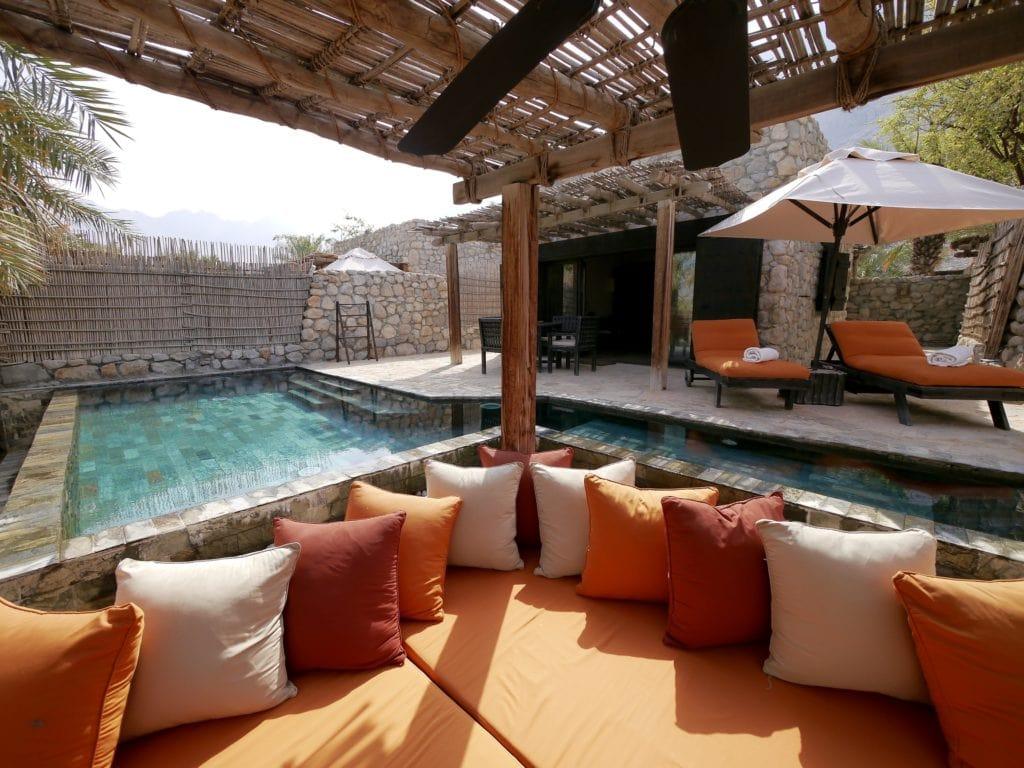 Six Senses Zighy Bay villa