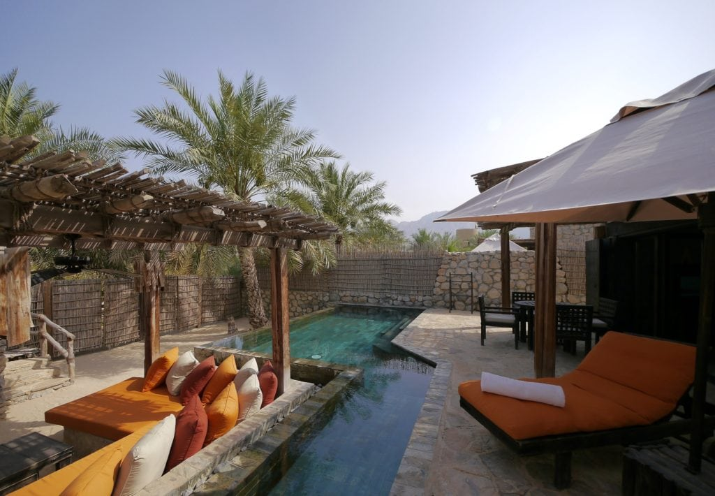Six Senses Zighy Bay villa