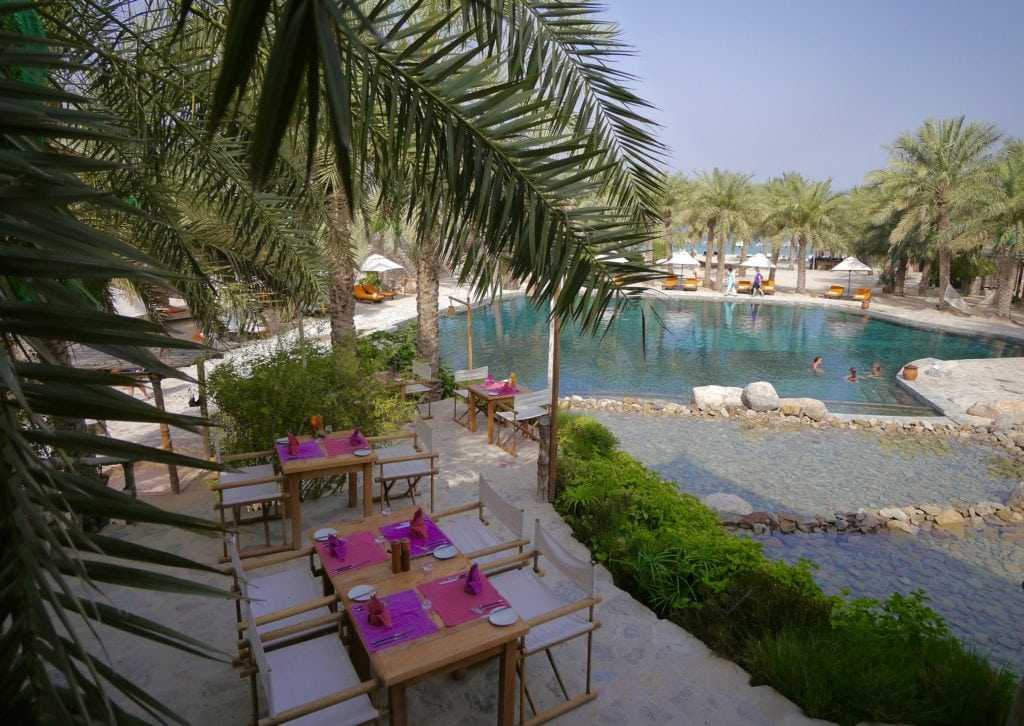 Six Senses Zighy Bay pool