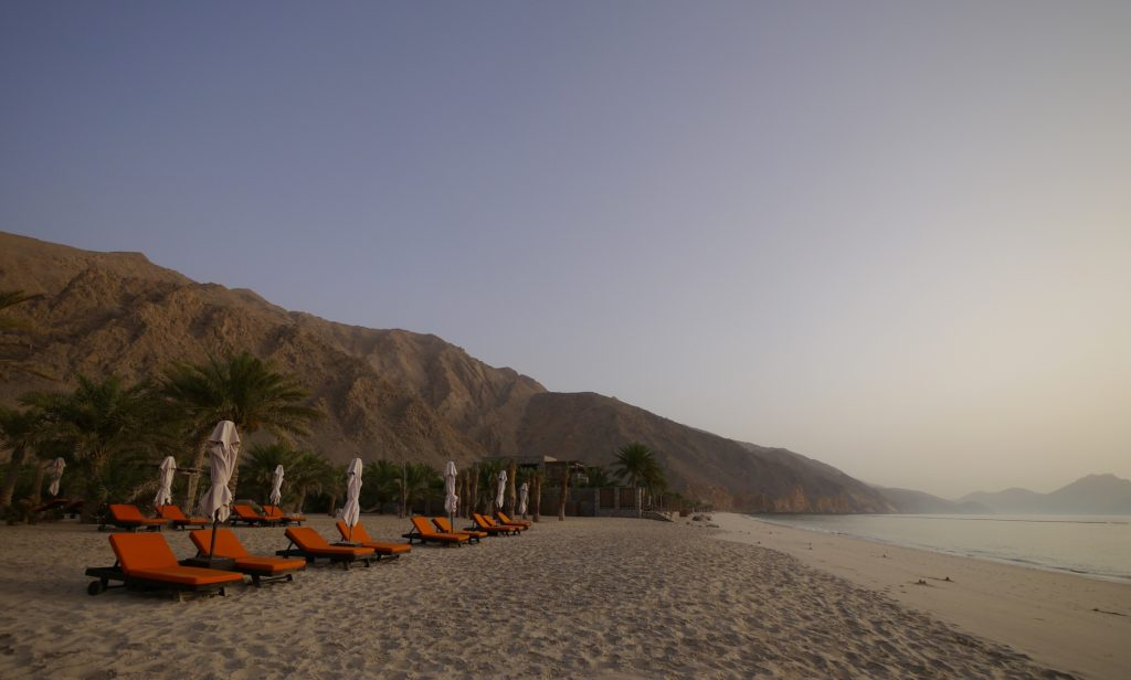 Six Senses Zighy Bay beach