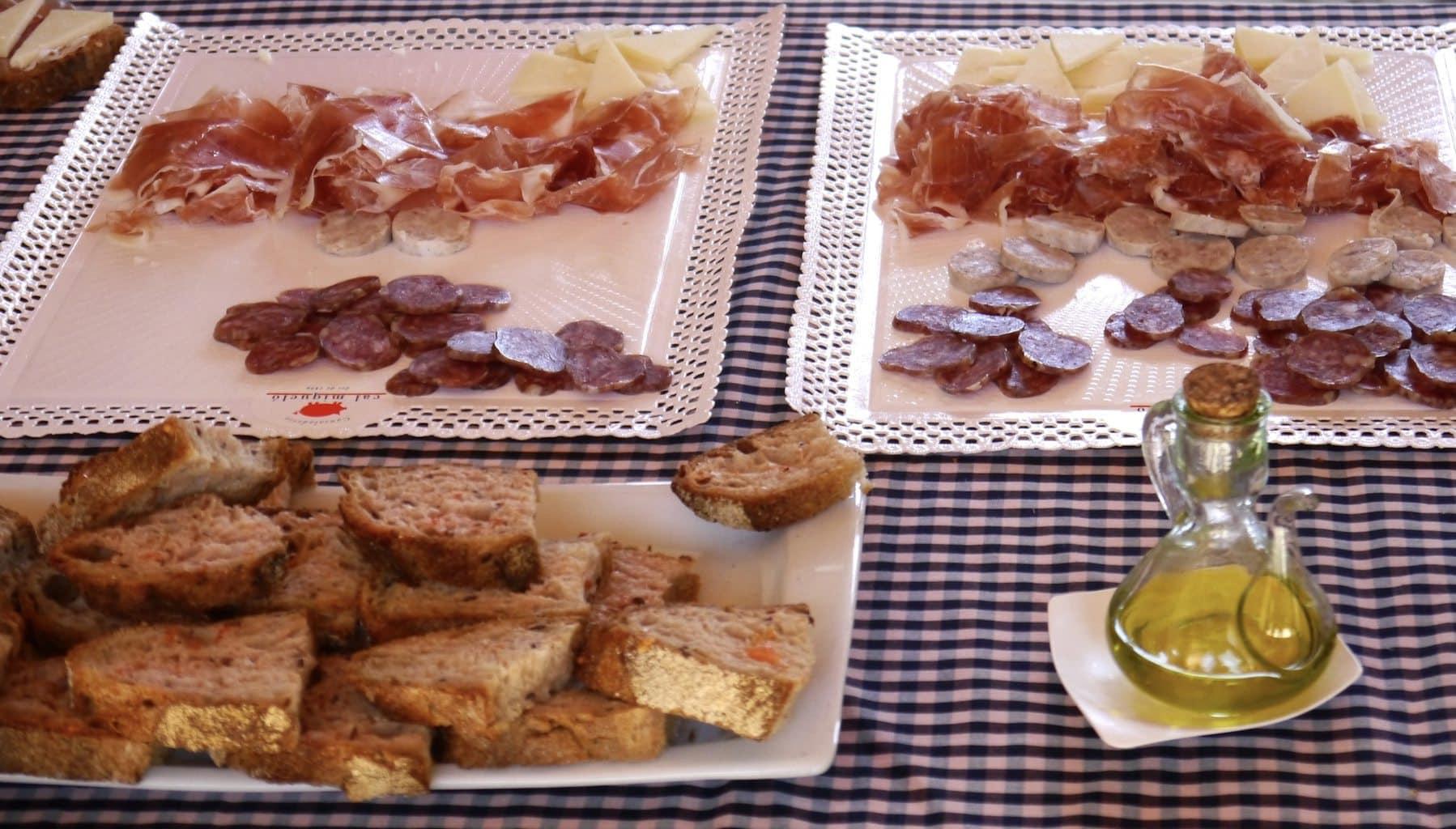 Breakfast at Cava Llopart on the Gran Reserva Tour
