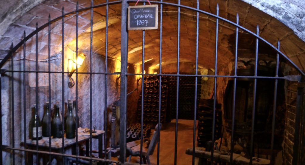 Cava Llopart Gran Reserva Tour cellar