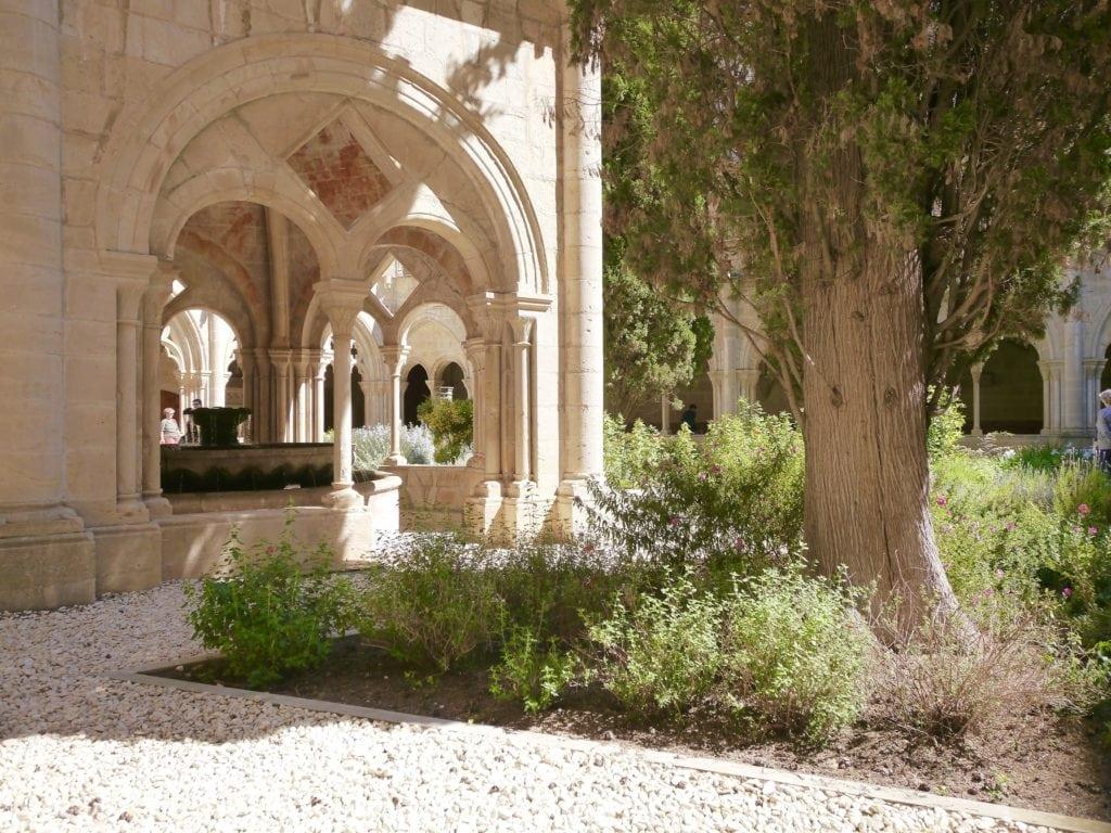 Poblet Monastery cloister