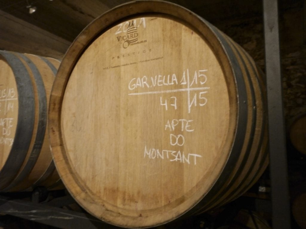 Celler de Capçanes barrels