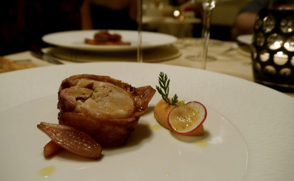 Roasted pork Enoteca Pinchiorri