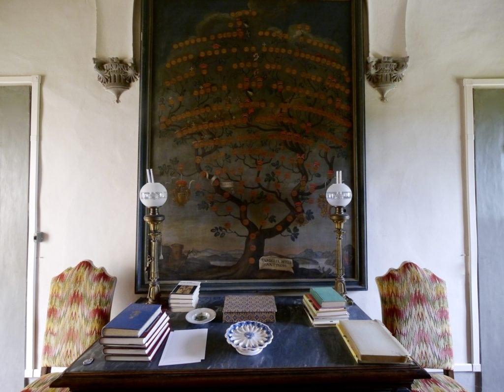 Antinori Family tree