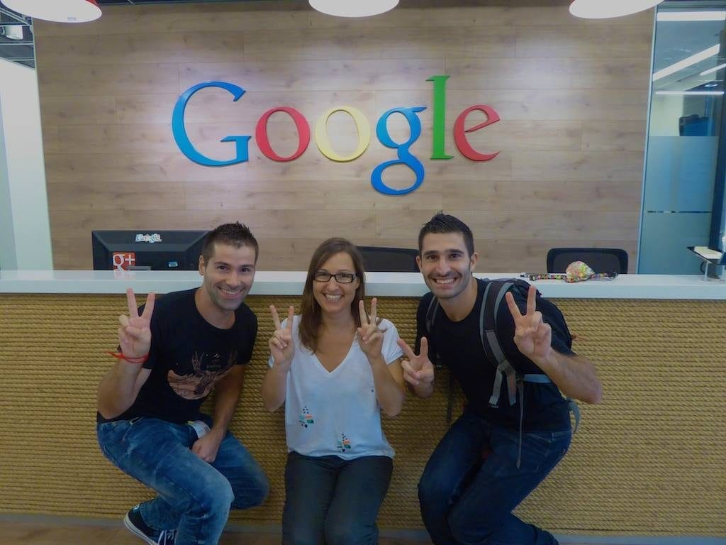 At Google with The Nomadic Boys