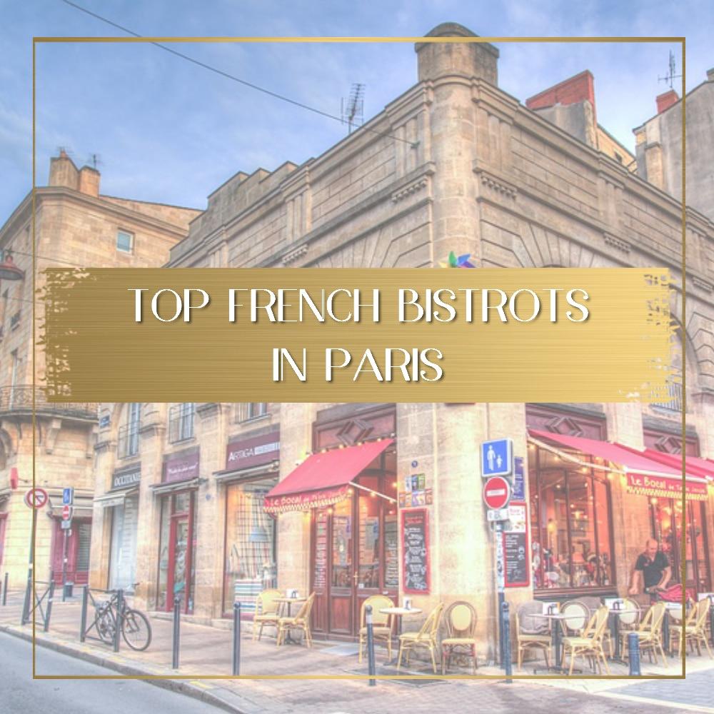 Paris bistros feature