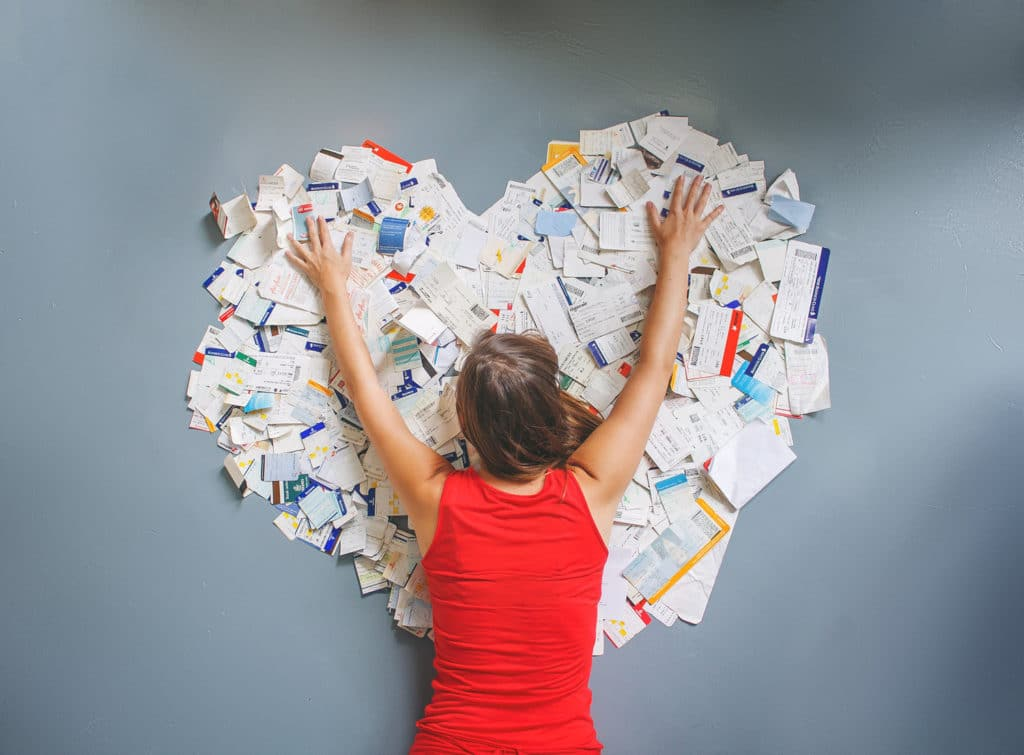 Me and my 1000s of boarding passes