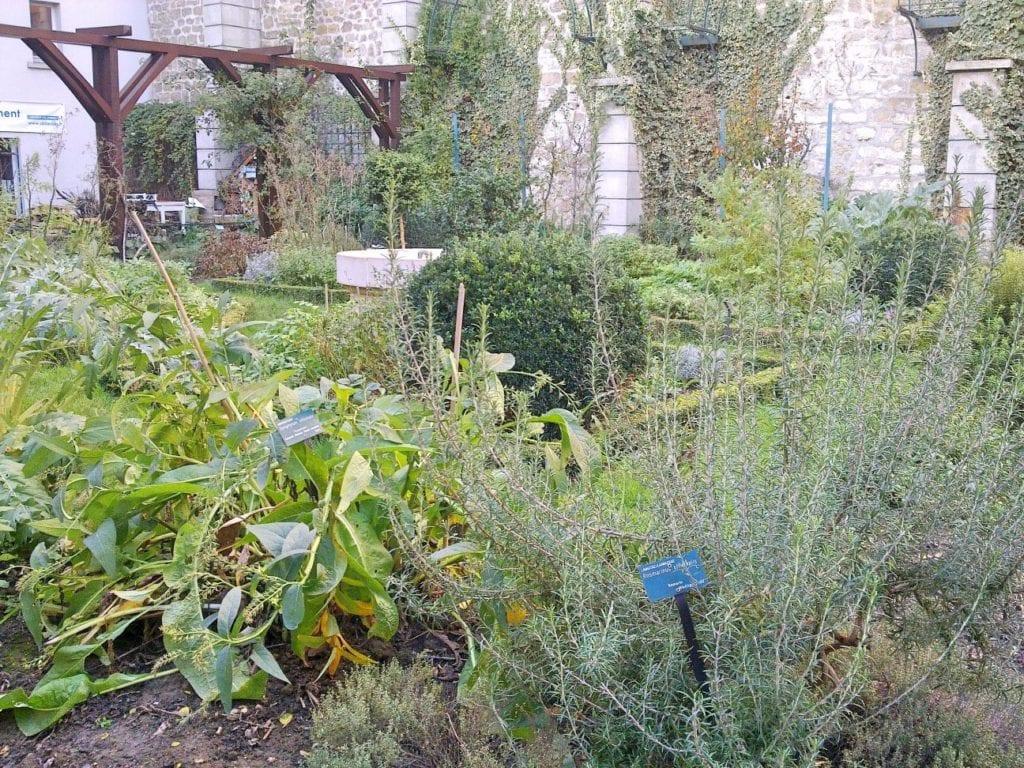 Abbesses garden