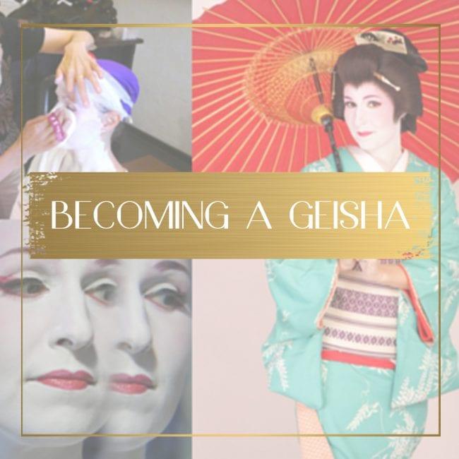 Becoming a geisha feature