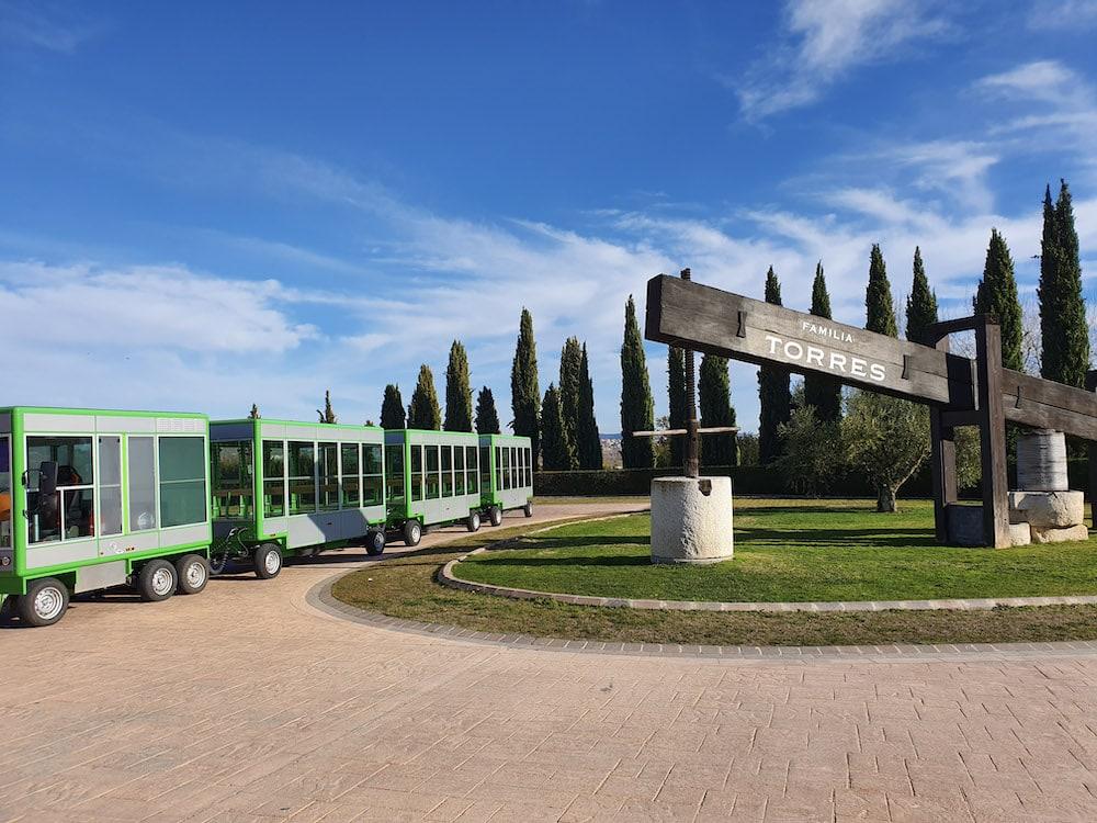 Familia Torres visitor center