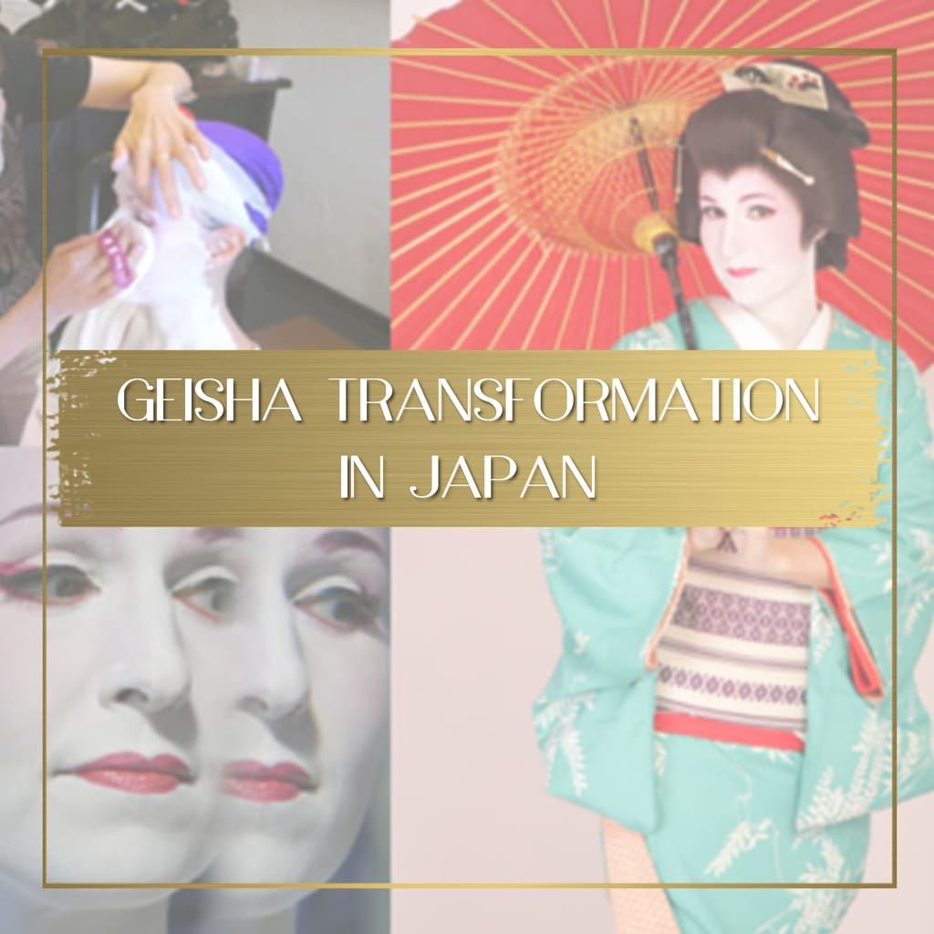 Geisha transformation in Japan feature