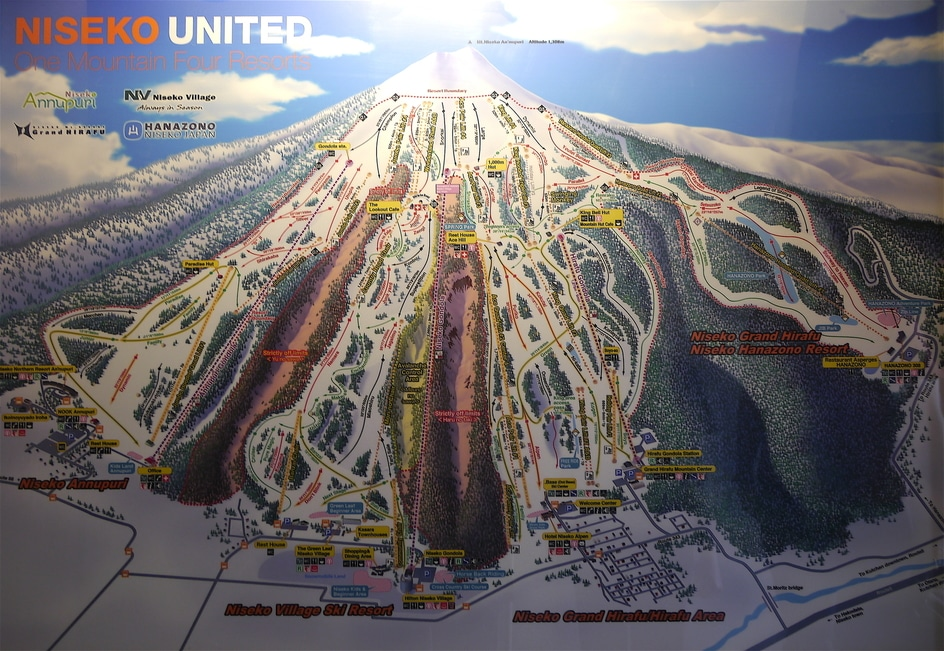 """Niseko ski map"""