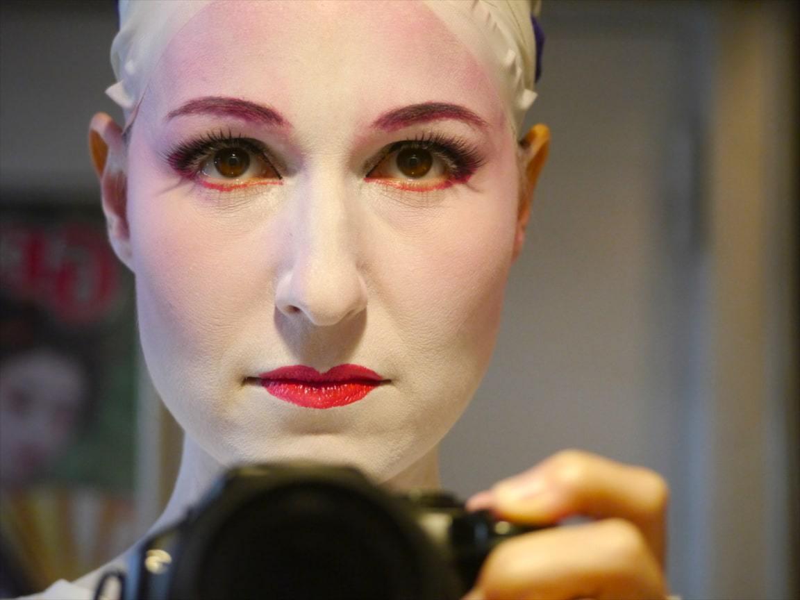 Geisha in the making