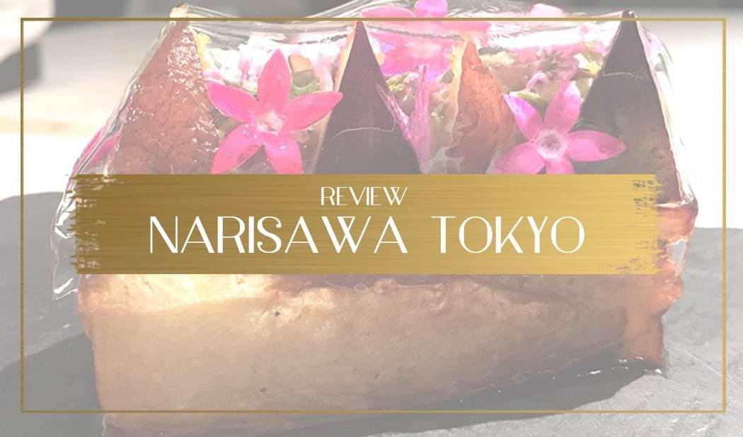 Review of Narisawa main