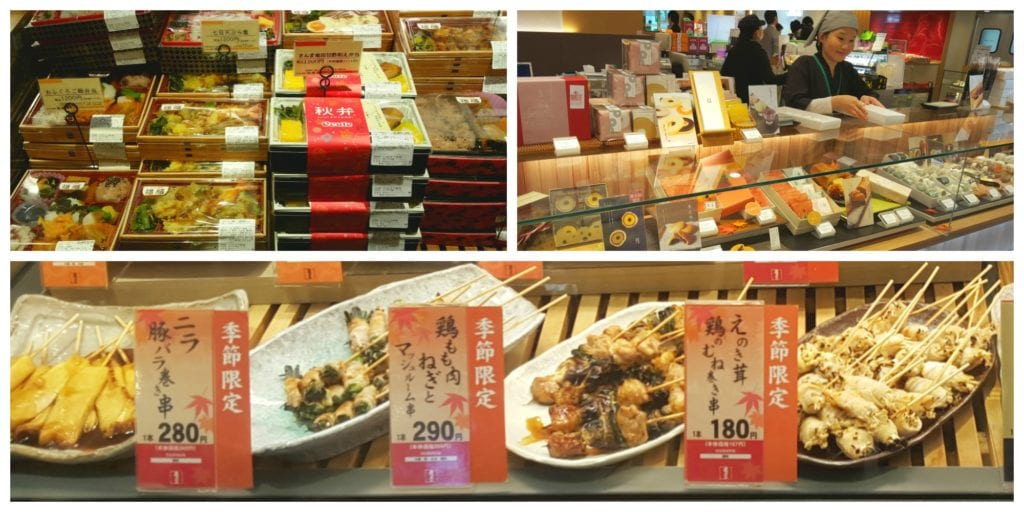 best food experiences in Tokyo with Train Station bento boxes