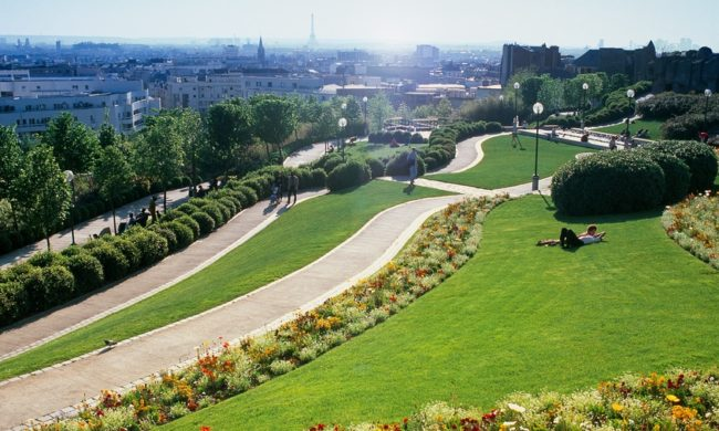 Paris Parc Belleville
