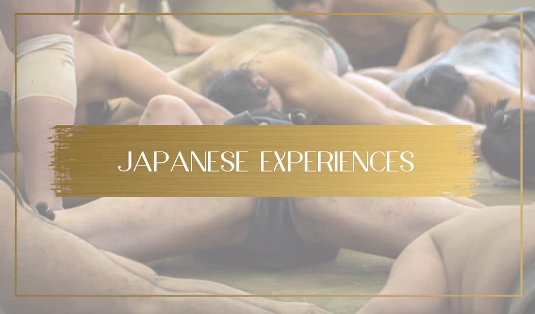 Japanese experiences main