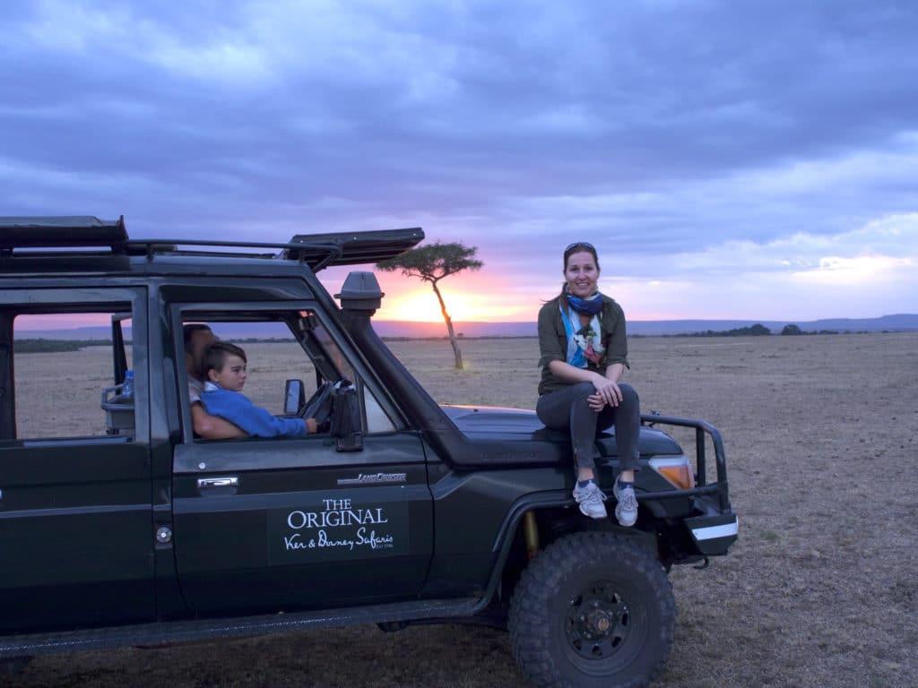 Sundowners at the Maasai Mara