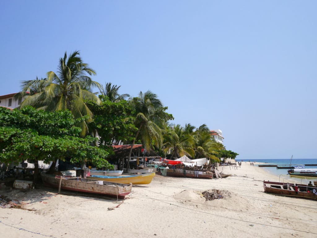 Zanzibar' beach