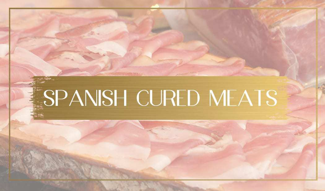 Spanish cured meats main