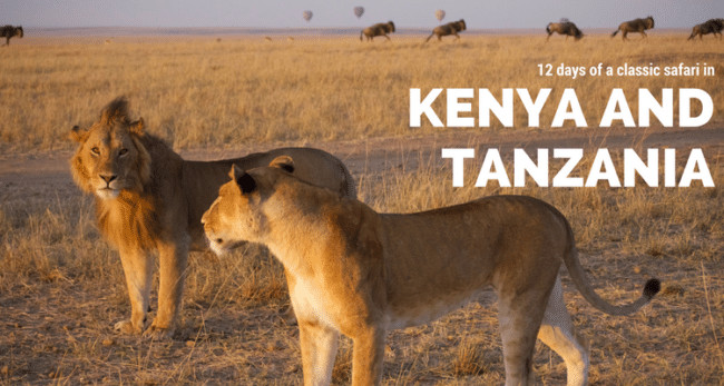 12 days of a classic safari in Kenya and Tanzania