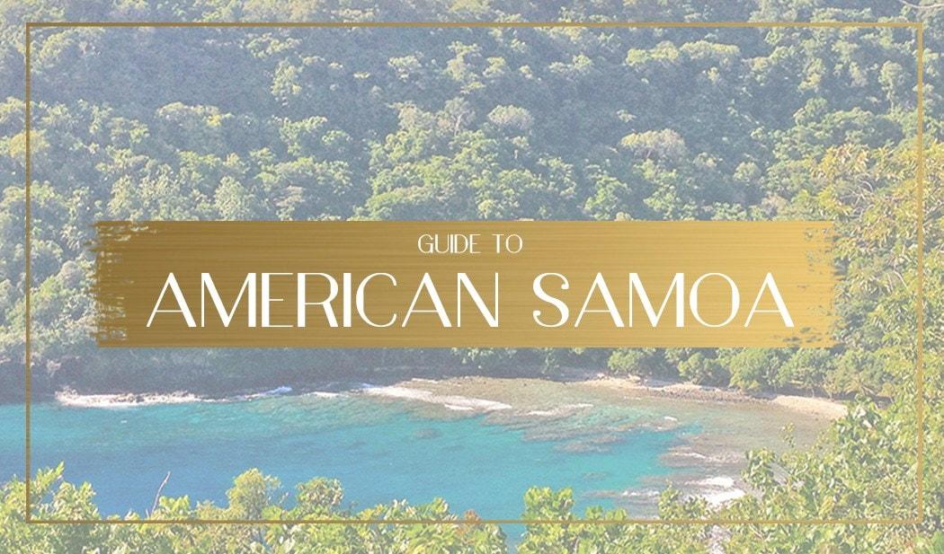 Guide to American Samoa Main