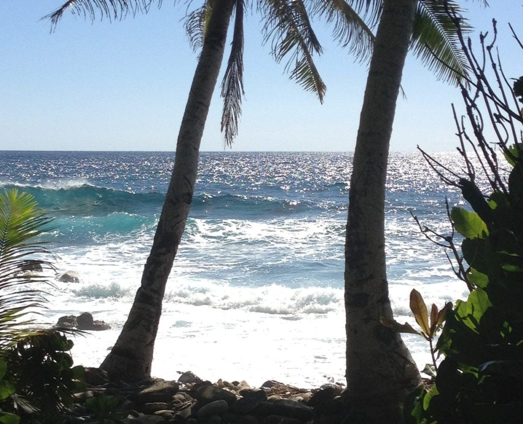 Surf's up in American Samoa